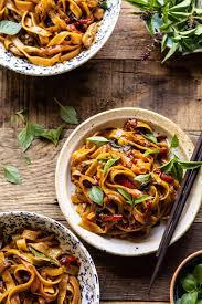 takeout thai drunken noodles