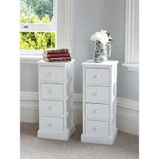 tall bedside table of tall white wooden four drawer bedside tables with ideas 1 remodel 2 tall bedside table