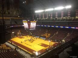 Williams Arena Minnesota Section 215 Rateyourseats Com