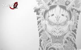 Yakuza 0 Maska Tetování Stažení Hd Tapety