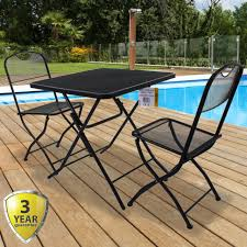 outdoor bistro set space saver patio