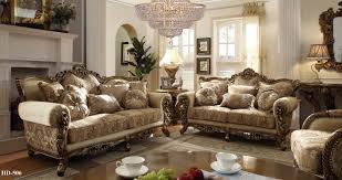 Traditional Living Room Furniture Homey Design Hd 506 Slc Traditional 3 Pcs Sofa Loveseat And Chair Set