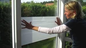 Fenster Sichtschutzfolie Anbringen