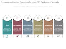 Architectural Powerpoint Template Enterprise Architecture Repository Template Ppt Background