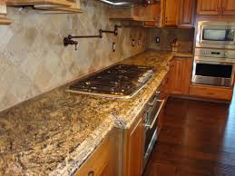 Granite Kitchens Wood Granite Countertops
