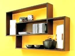 amazing wall hanging bookshelf book rack mounted mount shelf design idea ikea speaker quilt