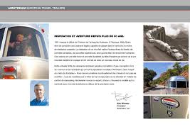2017 Airstream European Travel Trailers French Brochure Download