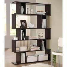 Contemporary Shelves baxton studio goodwin dark brown wood 5tier open shelf288625054 2594 by uwakikaiketsu.us