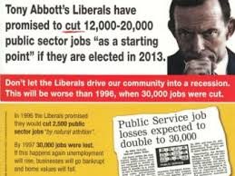 Pamphlet Sign Of A Dirty Election Campaign Liberals Abc