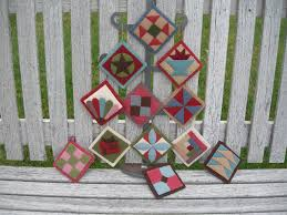 Quilt Ornaments & Wool applique quilt ornaments pattern Adamdwight.com