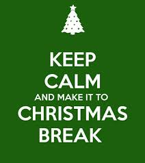 Image result for christmas break countdown