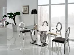 modern glass dining room tables. Modern Glass Dining Table Extendable Room Tables I