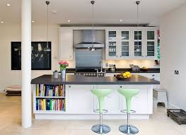 combine open shelves with closed cabinets for a smashing kitchen island design abode architects