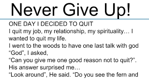 awesome quotes no matter what s happening in your life right now one day i decided to quit