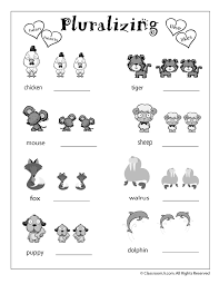 Language Arts Review Worksheets | Woo! Jr. Kids Activities