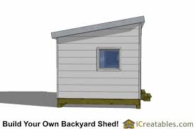 shed office plans. 10x12 modern shed plans right side office