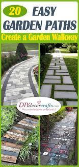 easy garden path ideas garden walkway