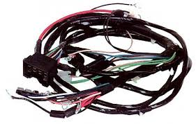 wire harness 3 67 chevy front light harness w internally regulated alternator