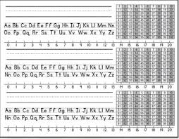Alphabet And Numbers Chart Desk Name Tags With Alphabet Number Line And Hundreds Chart