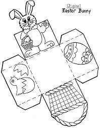 Easter Templates Color And Print Easter Bunny Box Disclaimer First And Foremost I