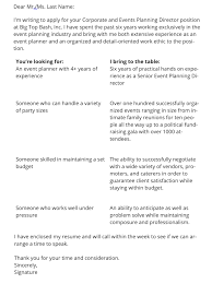 Work Experience Cover Letter The Best Cover Letter Format For 2019 3 Sample Templates