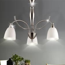 Design Hänge Decken Leuchte Wohnraum Luster Flur Glas