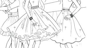 Barbie Coloring Pages For Kids Fashion Barbie Coloring Pages Unique