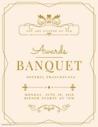 Banquet Flyers Free Downloads Postermywall