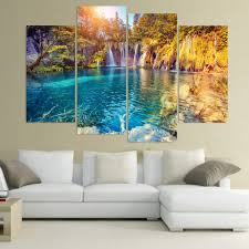 Living Room Canvas Paintings Nature Canvas Art Promotion Shop For Promotional Nature Canvas Art