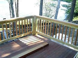 wood deck railing designs deck railing wood wooden deck railing pictures simple wood deck railing ideas