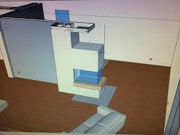 Kaminofen Im Wohnzimmer Die Vorbereitung Hausbau Ein