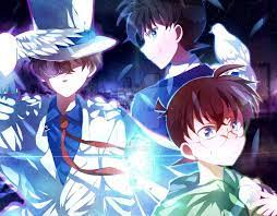 Conan Edogawa, Kaito Kid, and Shinichi Kudo, in The Last Wizard of the  Century by https://www.deviantart.com/tiantai on @DeviantArt   Detective  conan, Anime, Conan