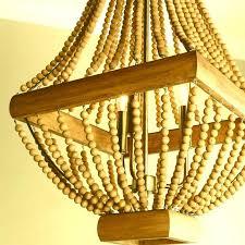 ceiling lights mini beaded chandelier flat wooden beads wooden beaded chandelier australia black wood chandelier