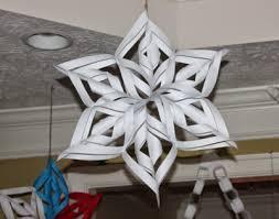 paper snowflakes 3d gorgeous 3d paper snowflakes allfreepapercrafts com