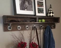 Black Pipe Coat Rack Pipe coat rack Etsy 2