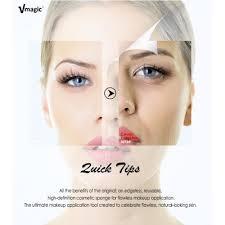 tear drop shape premium super bigger beauty sponge foundation makeup for applicator and highlighter black
