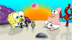 Spongebob Aesthetic Laptop Wallpapers ...