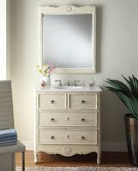 Distressed Bathroom Cabinet Fantastic Images Of Cream Bathroom Vanity For Bathroom Design And