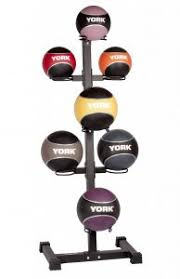 york kettlebells. 7 ball vertical medicine storage rack | gym equipment york kettlebells
