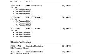 Resume Microsoft Word Resume Builder Resume Builder Microsoft