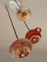 teacup and tea pot lighting fixtures from t2