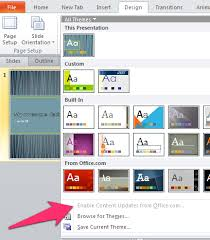 Whats The Best Built In Powerpoint Theme Laura M Foley