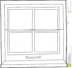 door clipart black and white. Square Window Clipart Black And White 4 Door R