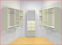 Awesome Idea Walk In Closet Kits Impressive Design WALK IN CLOSET KIT W  DRAWERS LARGE SQUARE Closets
