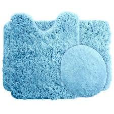 plush bathroom rugs 3 piece super plush non slip bath rug set black plush bath rugs