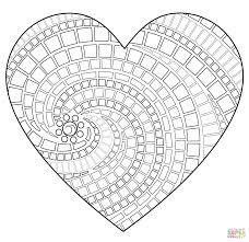 120 Hartjes Mandala Amazing Coloriage Beste Hartjes Mandala20