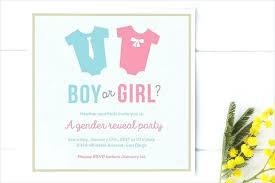 Gender Reveal Party Invitations Free Gender Reveal Invitation