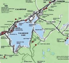 Calabogie Lake Depth Chart Calabogie Fishing Peaksview Ski Chalets And Cottages For