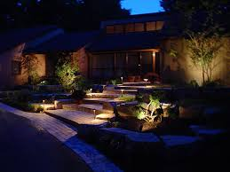 landscape low voltage path lighting ideas garden ideas design