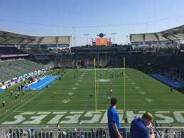 La Chargers Seating Chart Dignity Health Sports Park Section 321 Los Angeles